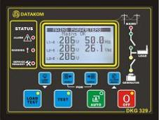 DKG-329 ATS controller with synch check