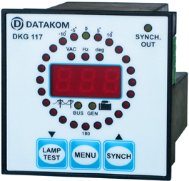 DKG-117 Synchroscope and Check Synch Relay