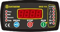 DKG-116 manual and remote start unit