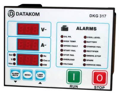 DKG-317 Manual and Remote Start Unit