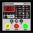 DKG-215 manual and remote start unit